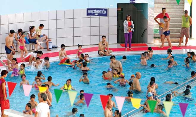 Sẽ xây bể bơi trong các trường học - 1