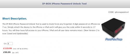 """Thiết bị """"phá khóa"""" iPhone trong 6 giây - 1"""