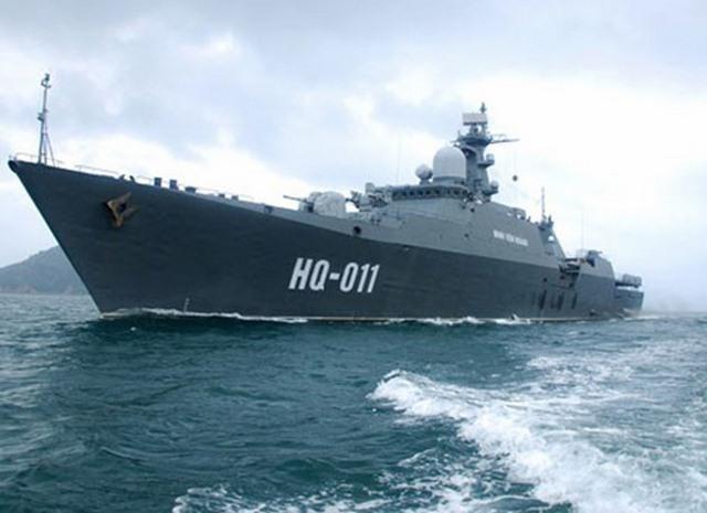 Nga sắp bàn giao 2 tàu chiến hộ vệ tên lửa cho VN - 1