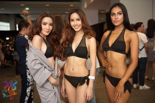 Hậu trường bikini đẹp bất ngờ ở Hoa hậu Chuyển giới - 1
