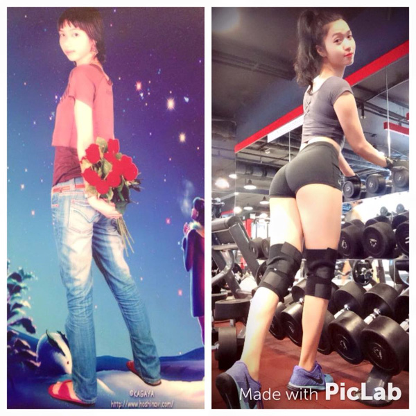 """Cách nở vòng 3 của """"hot girl phòng gym"""" Hà Nội - 2"""