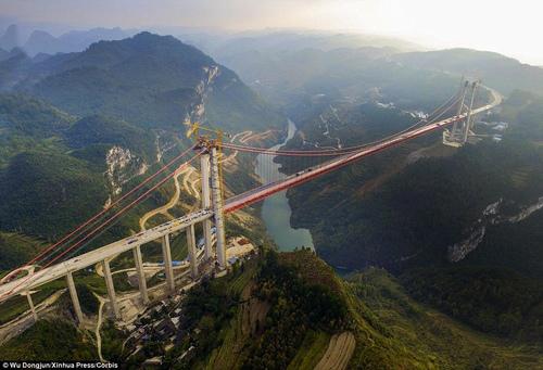 """""""Siêu"""" cầu ở Trung Quốc và những cây cầu dài nhất thế giới - 5"""