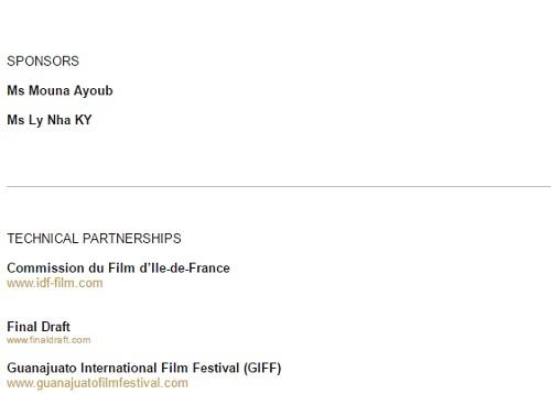 Lý Nhã Kỳ xuất hiện trên website LHP Cannes - 2