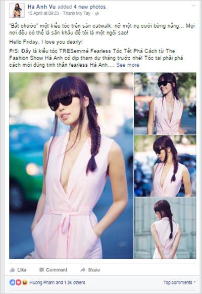 Trào lưu tóc tết phá cách chiếm lĩnh Facebook các fashionista - 1