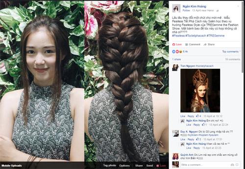 Trào lưu tóc tết phá cách chiếm lĩnh Facebook các fashionista - 3