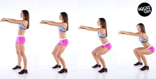 """Cách nở vòng 3 của """"hot girl phòng gym"""" Hà Nội - 4"""