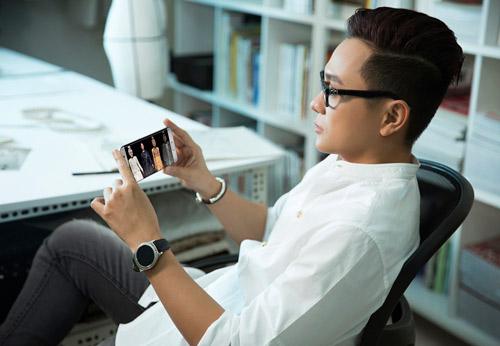 """NTK Công Trí gấp rút """"làm mới"""" BST Lúa với Galaxy S7 edge - 6"""