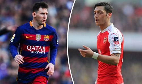 """Messi vượt Ozil, là """"trùm chọc khe"""" ở châu Âu - 1"""