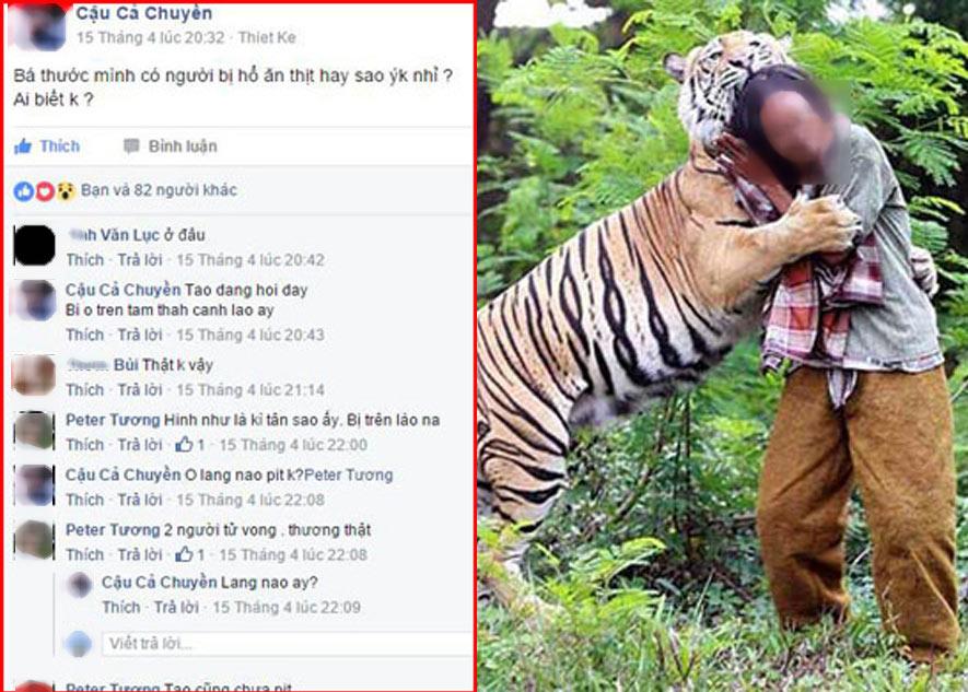 Bác tin người dân ở Thanh Hóa bị hổ ăn thịt - 1