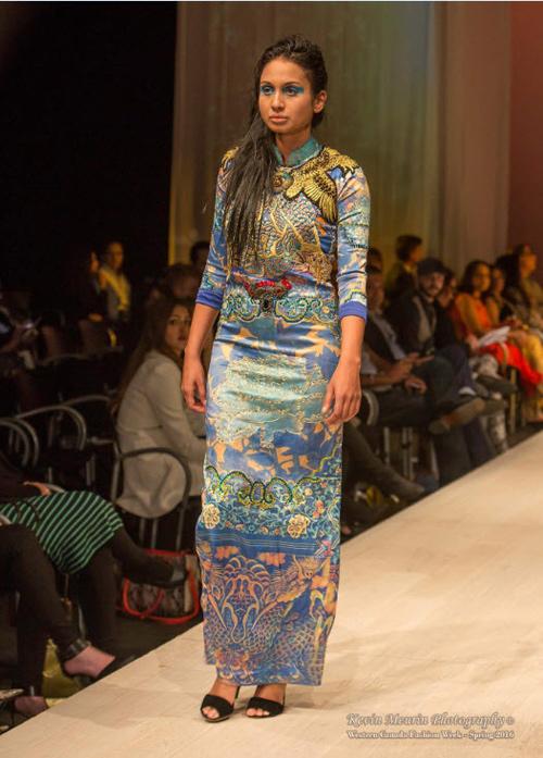 NTK mang tơ tằm Việt tới tuần lễ thời trang Canada - 2