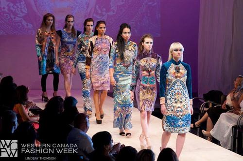 NTK mang tơ tằm Việt tới tuần lễ thời trang Canada - 3