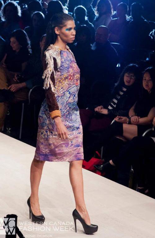 NTK mang tơ tằm Việt tới tuần lễ thời trang Canada - 6