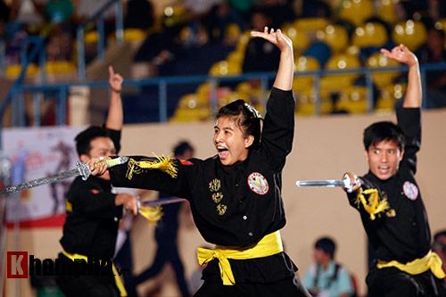 Xem múa côn, ra đòn đẹp mắt ở Liên hoan võ thuật TP HCM - 2