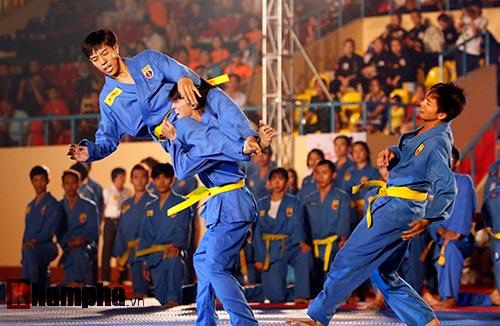 Xem múa côn, ra đòn đẹp mắt ở Liên hoan võ thuật TP HCM - 3