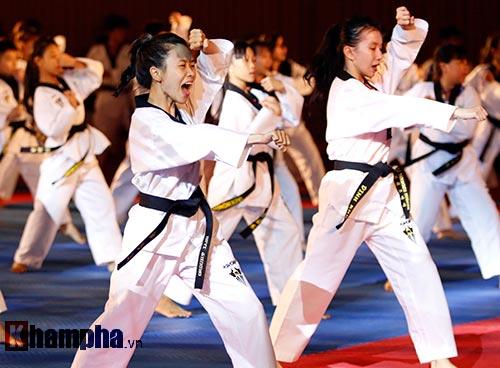 Xem múa côn, ra đòn đẹp mắt ở Liên hoan võ thuật TP HCM - 4