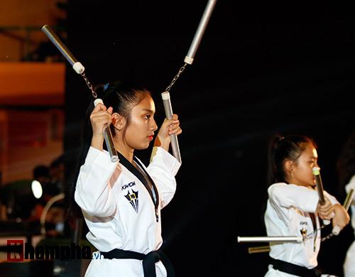 Xem múa côn, ra đòn đẹp mắt ở Liên hoan võ thuật TP HCM - 5