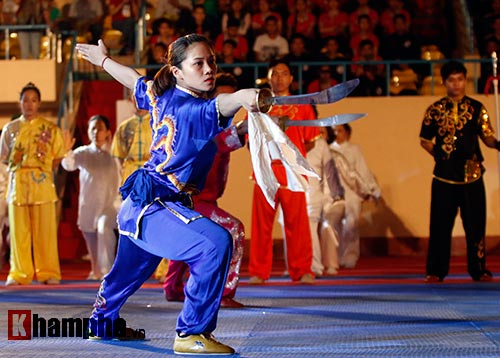 Xem múa côn, ra đòn đẹp mắt ở Liên hoan võ thuật TP HCM - 7
