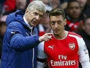 Bóng đá - Arsenal thắng trận 500, Wenger chỉ bênh Ozil