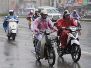 Tin tức trong ngày - Cuối tuần, miền Bắc mưa, miền Nam tiếp tục nắng nóng