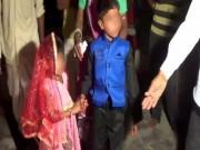 """Bạn trẻ - Cuộc sống - Ấn Độ: Sốc với đám cưới """"cô dâu"""" 5 tuổi, """"chú rể"""" 11 tuổi"""