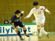 Bóng đá - Chuẩn bị World Cup, Futsal VN nhận bài học trước Nhật