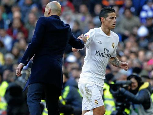Ronaldo chấn thương, Zidane vẫn phớt lờ James Rodriguez - 1