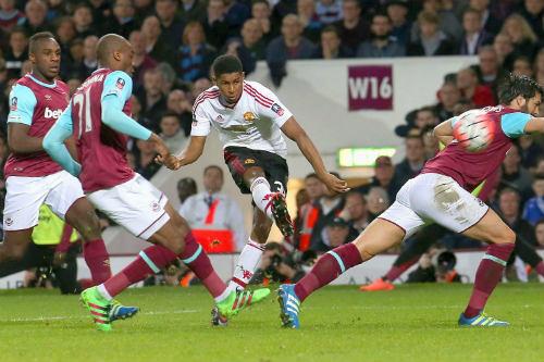 MU: Rashford từng lập 4 hat-trick trong 1 trận đấu - 2