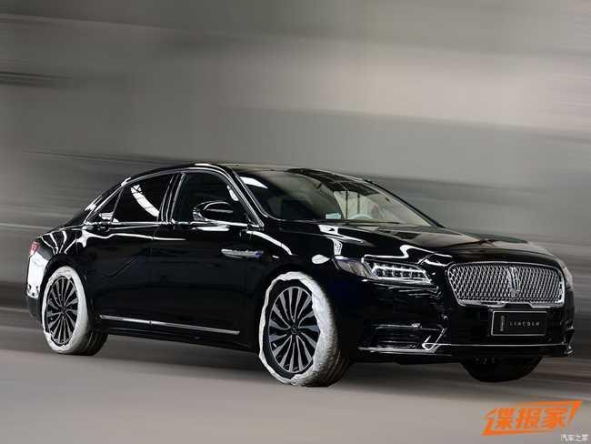 Ngắm Lincoln Continental Presidential  2017 dành cho Trung Quốc - 1