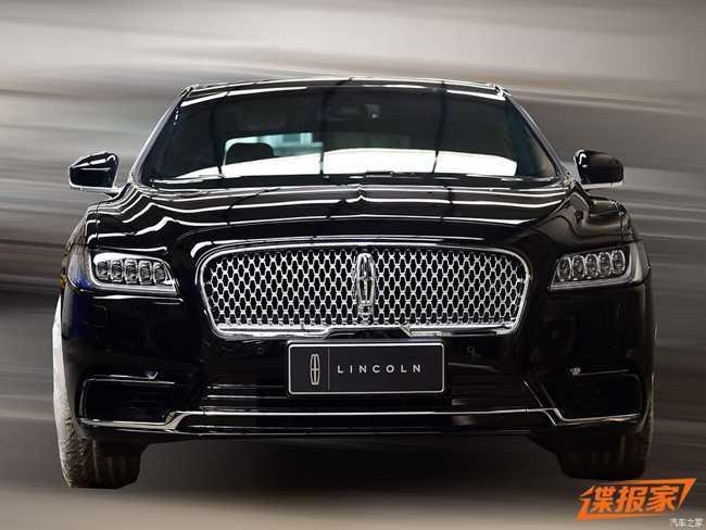 Ngắm Lincoln Continental Presidential  2017 dành cho Trung Quốc - 2