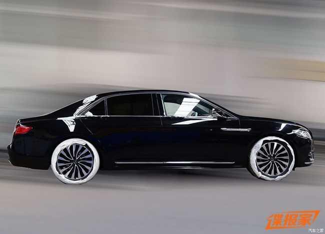 Ngắm Lincoln Continental Presidential  2017 dành cho Trung Quốc - 3