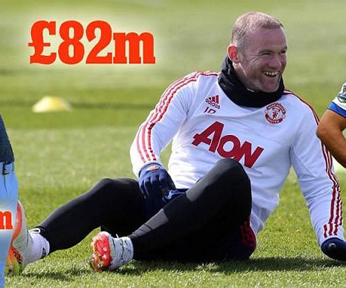 Sa sút phong độ, Rooney vẫn giàu nhất Vương quốc Anh - 1