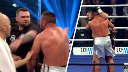 """Boxing: Chơi bẩn, """"xin"""" tai đối thủ như Tyson - 1"""