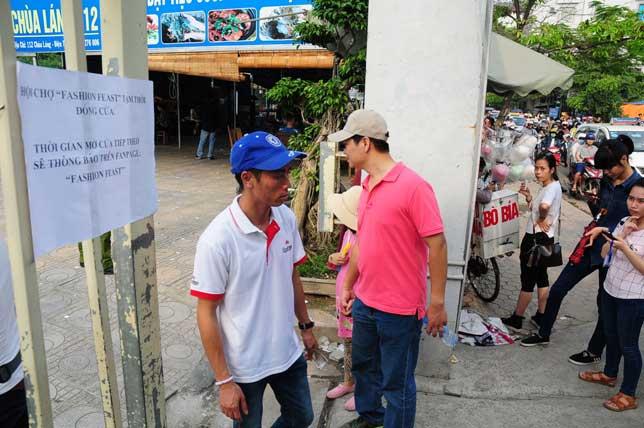 Ảnh: Tan hoang hội chợ container lần đầu tổ chức ở HN - 2