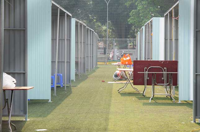 Ảnh: Tan hoang hội chợ container lần đầu tổ chức ở HN - 7