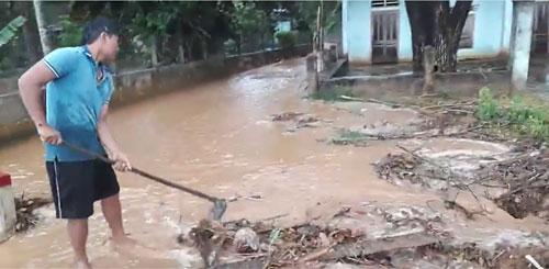 Xuất hiện mưa đá bất thường ở Bình Định - 3