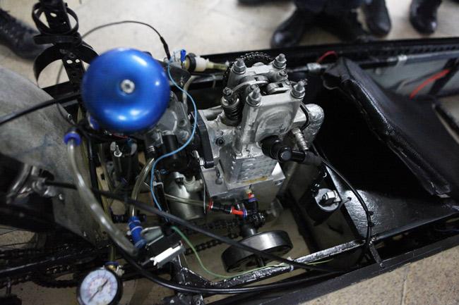 SV Việt chế chiếc xe chạy 3.000km chỉ với… 1 lít xăng - 7