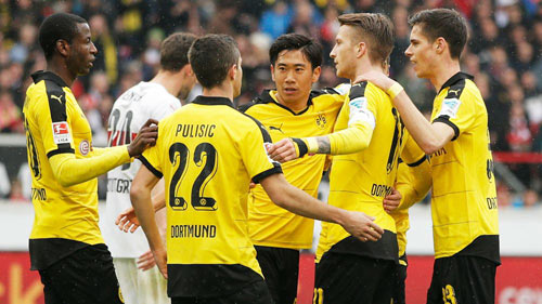 Stuttgart - Dortmund: Tưng bừng nhảy múa - 1