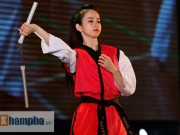 """Thể thao - """"Hot girl"""" Tuyết Vân tung hoành tại Liên hoan võ thuật"""