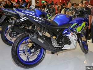 Cận cảnh chiếc sportbike Yamaha R15 Movistar 2016 cực ngầu