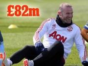 Sa sút phong độ, Rooney vẫn giàu nhất Vương quốc Anh