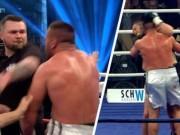 """Thể thao - Boxing: Chơi bẩn, """"xin"""" tai đối thủ như Tyson"""