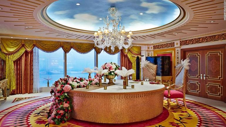 Những khách sạn sang chảnh bậc nhất ở Trung Đông - 1