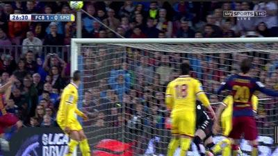 """Chi tiết Barca - Gijon: """"Cơn điên"""" của Suarez (KT) - 7"""