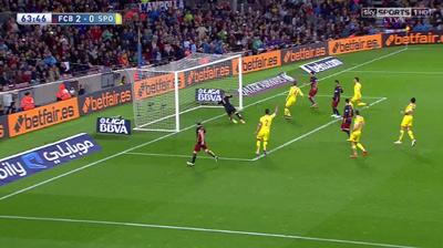 """Chi tiết Barca - Gijon: """"Cơn điên"""" của Suarez (KT) - 11"""