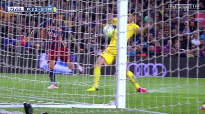 """Chi tiết Barca - Gijon: """"Cơn điên"""" của Suarez (KT) - 12"""
