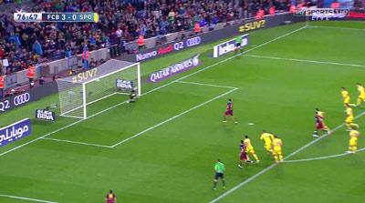 """Chi tiết Barca - Gijon: """"Cơn điên"""" của Suarez (KT) - 13"""