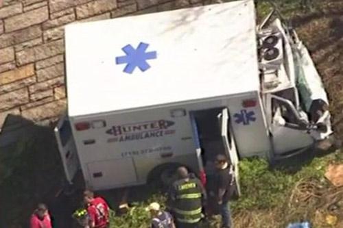 Vừa xuất viện đã tử vong vì xe cứu thương gặp nạn - 2