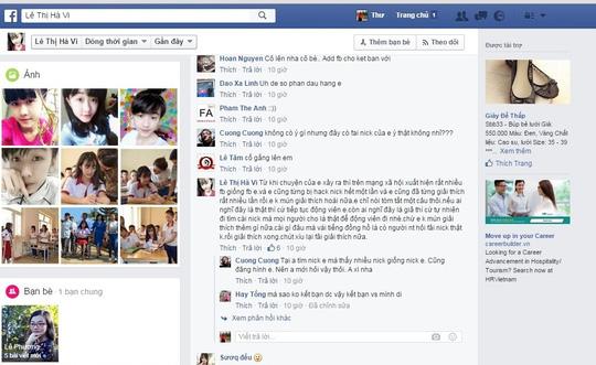 Nữ sinh bị cưa chân - Lên tiếng về các Facebook giả mạo - 3