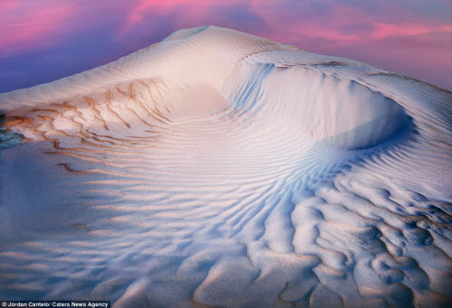 Vẻ đẹp như ở thế giới khác của cồn cát Australia - 5