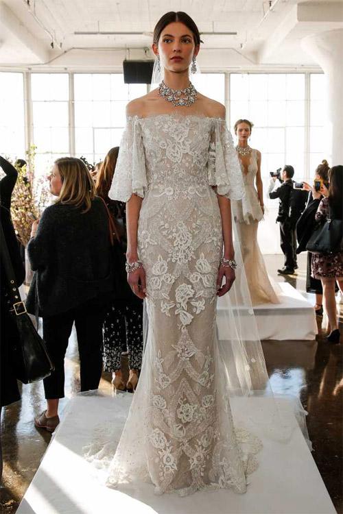 """Váy cưới đẹp tới mức """"phải nín thở"""" của Marchesa - 3"""